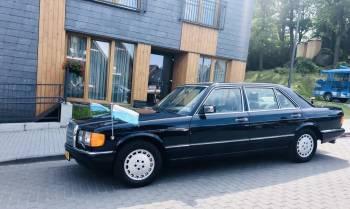 Mercedes Benz 500 SEL V8 w126 Limuzyna Wersja Rządowa ! Rarytas, Samochód, auto do ślubu, limuzyna Bardo