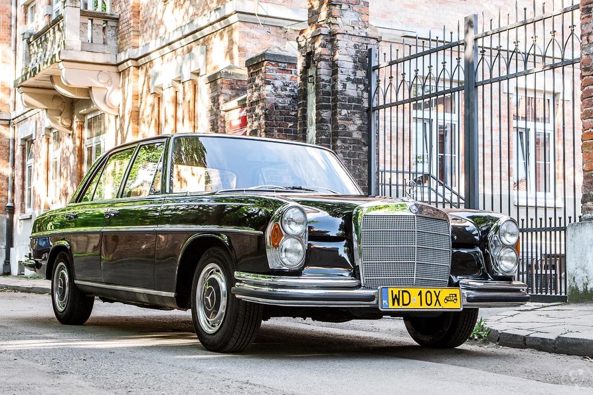 Zabytkowy Mercedes W108 do ślubu!, Warszawa - zdjęcie 1