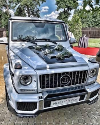 Auto do ślubu G-class Brabus, Samochód, auto do ślubu, limuzyna Chełmno