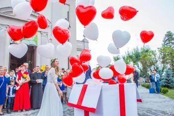 Pudło z balonami z helem + Lody tajskie/Fotolustro/Animacje dla dzieci, Balony, bańki mydlane Wolbórz