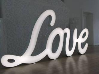 Pisane LOVE, napis LOVE,  Rzeszów