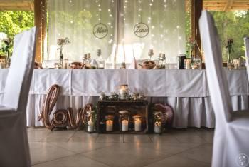 Gusto Nad Stawami-Wesele w stylu rustykalnym, Sale weselne Ostróda