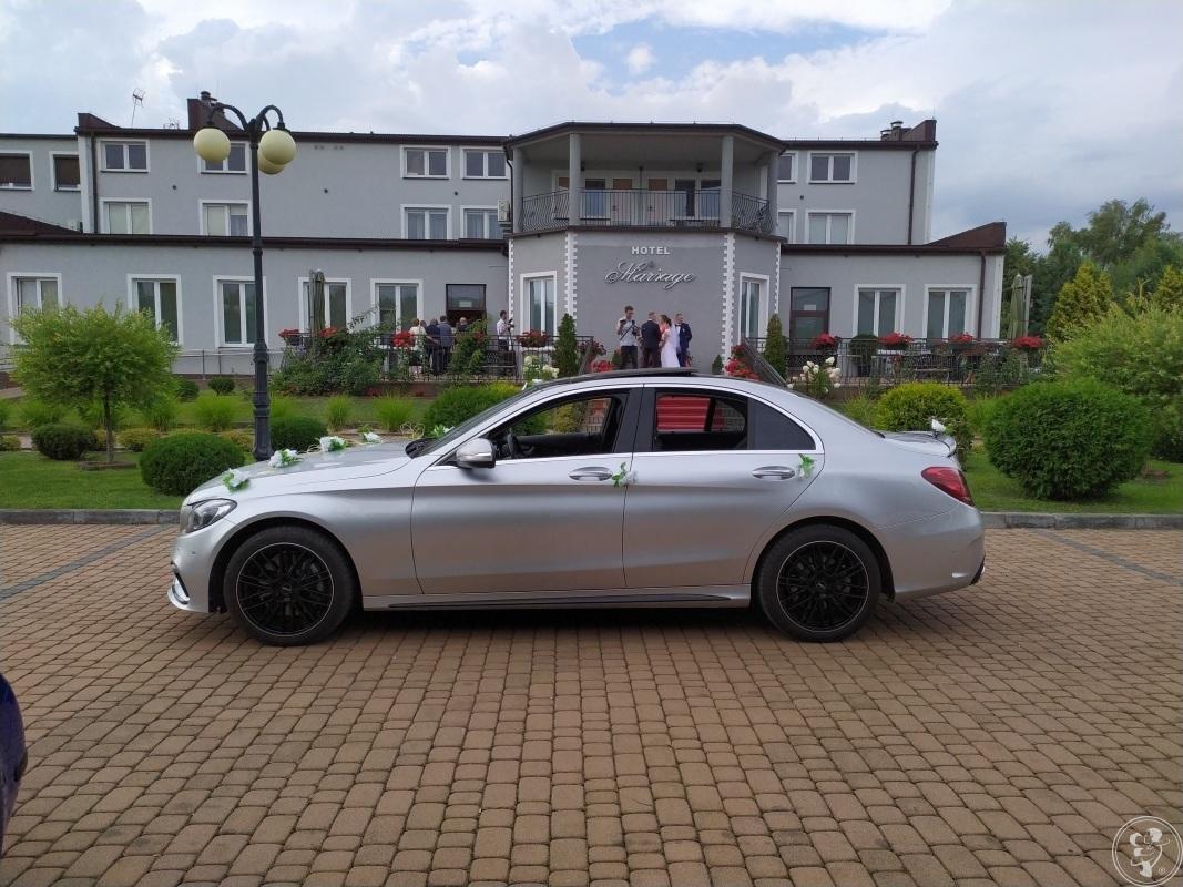 Auto samochód do ślubu na wesele Mercedes/ zmodyfikowany, Włoszczowa - zdjęcie 1