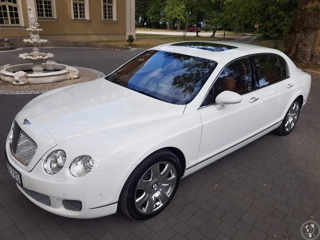 Wyjątkowe auto do ślubu Bentley Continental Flying Spur, Wrocław - zdjęcie 1