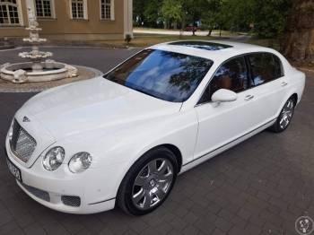 Wyjątkowe auto do ślubu Bentley Continental Flying Spur, Samochód, auto do ślubu, limuzyna Wrocław