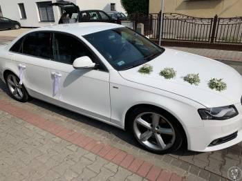 Audi A4 do ślubu, Samochód, auto do ślubu, limuzyna Nowy Tomyśl