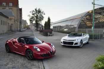 Alfa Romeo 4C / Camaro 2SS / Cabrio | Auto do ślubu | samochód weselny, Samochód, auto do ślubu, limuzyna Kępno