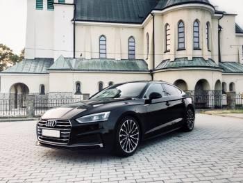 Piękne, czarne Audi A5 do ślubu! Samochód do ślubu, Samochód, auto do ślubu, limuzyna Narol
