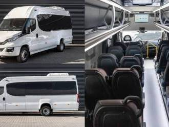 Przewóz gości weselnych busy 8+1 17+1 22+1,  Poznań
