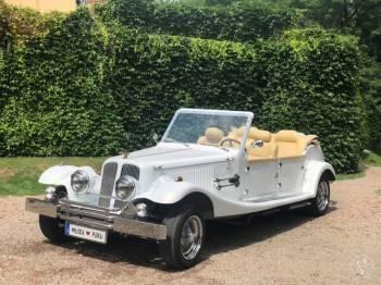 Alfa Romeo Auto retro do ślubu samochody weselne samochód na ślub, Samochód, auto do ślubu, limuzyna Skała