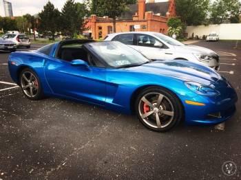 Corvette C6 Z51 6.2L V8- wynajem do ślubu na wesele - samochód legenda, Samochód, auto do ślubu, limuzyna Bardo