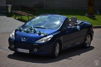 Kabriolet do ślubu - Peugeot 307cc, Samochód, auto do ślubu, limuzyna Krosno