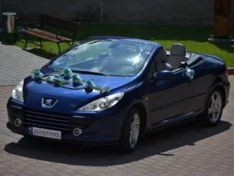 Kabriolet do ślubu - Peugeot 307cc,  Krosno