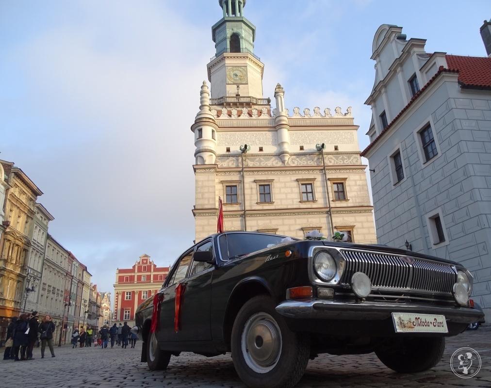 Czarna wołga 24 auto samochód zabytkowy ślub wesele imprezy sesje, Poznań - zdjęcie 1