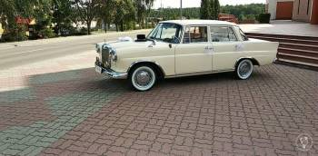 Mercedes W110 Skrzydlak, Samochód, auto do ślubu, limuzyna Biskupiec