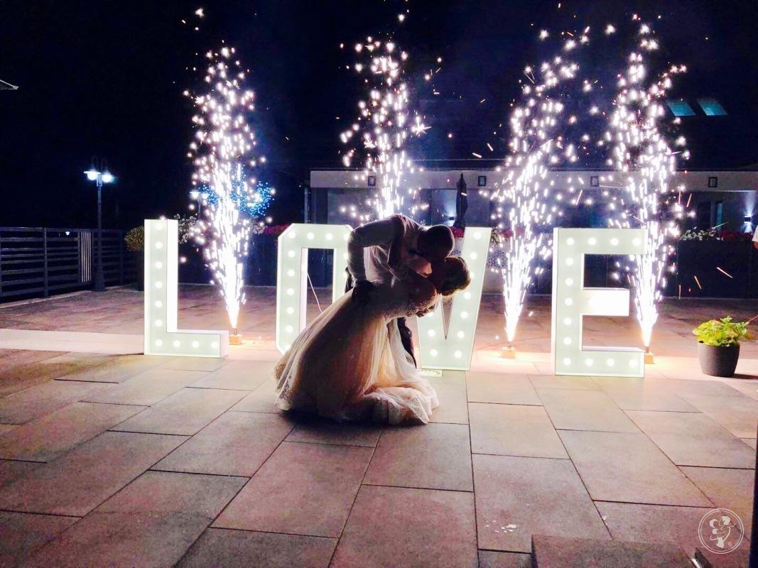 Udane Party Organizacja Imprez Fotobudka taniec w chmurach napis Love, Warszawa - zdjęcie 1