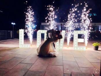 Udane Party Organizacja Imprez Fotobudka taniec w chmurach napis Love, Fotobudka, videobudka na wesele Łomianki