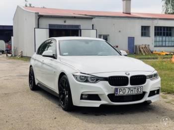 BMW BIAŁE, Samochód, auto do ślubu, limuzyna Lwówek