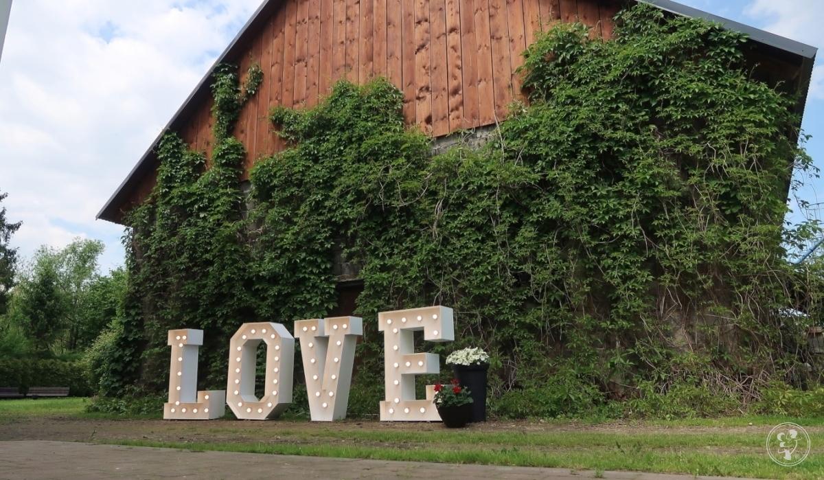 Napis Love na wesela i sesje fotograficzne!, Drogomyśl - zdjęcie 1