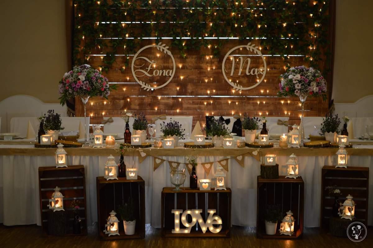 Dekoracje weselne Aga-Decor LOVE MIŁOŚĆ LED dekoracja światłem, Świdnica - zdjęcie 1
