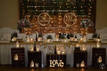 Dekoracje weselne Aga-Decor LOVE MIŁOŚĆ LED dekoracja światłem, Dekoracje światłem Strzegom