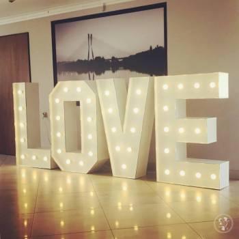 Podświetlany napis LOVE 120 cm - 250 zł, Napis Love Kowary