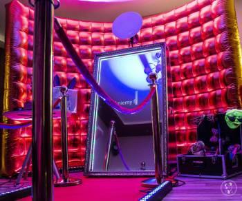 Fotolustro-fotobudka,ciężki dym,dekoracja światłem,napis LOVE itp, Fotobudka, videobudka na wesele Końskie