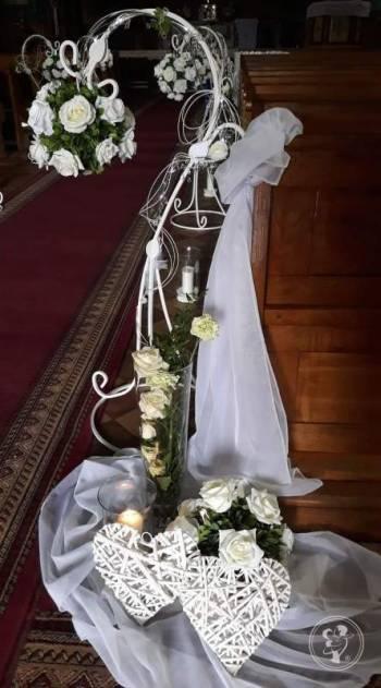 Studio dekoracji dekoracje na ślub,  dekoracja kościoła, sali  bukiety, Dekoracje ślubne Ustrzyki Dolne