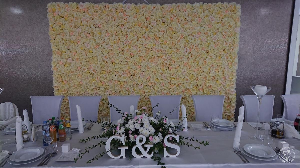 Ścianka kwiatowa, Lelów - zdjęcie 1