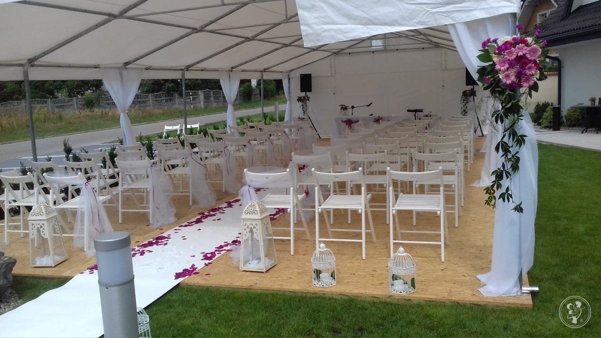 Namioty / stoły / krzesła / zastawa stołowa / ścianki dekoracyjne, Rybnik - zdjęcie 1