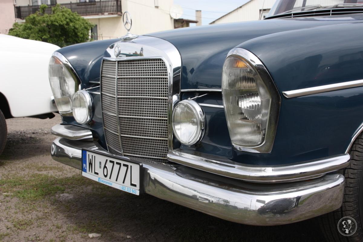 Zabytkowe Mercedesy Skrzydlak W110 W111 Ponton, Jabłonna - zdjęcie 1