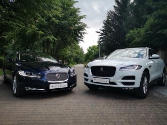 Jaguarem Do Ślubu - Wynajem Samochodów Luksusowych JAGUAR F-PACE, XF,  Łódź