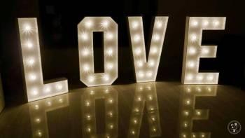 Napis LOVE dekoracja, Napis Love Nowy Staw