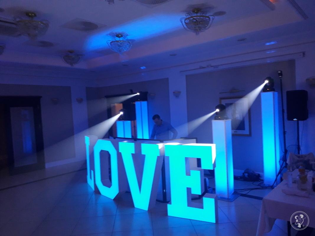 Napis LOVE 120cm LED podświetlany na każdy kolor - od Events Pro Music, Poznań - zdjęcie 1