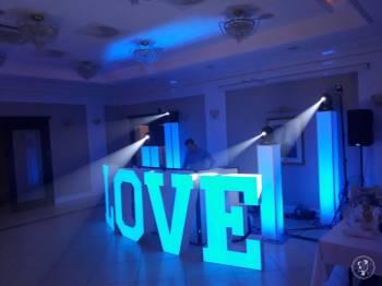 Napis LOVE 120cm LED podświetlany na każdy kolor - od Events Pro Music, Napis Love Opalenica