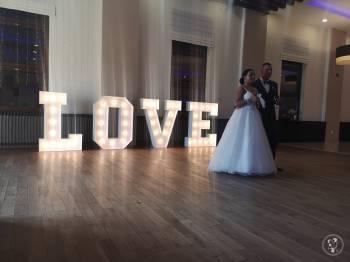 Napis LOVE - wynajem na wesele, ślub, event, sesję zdjęciową. 125cm!, Napis Love Chełmża