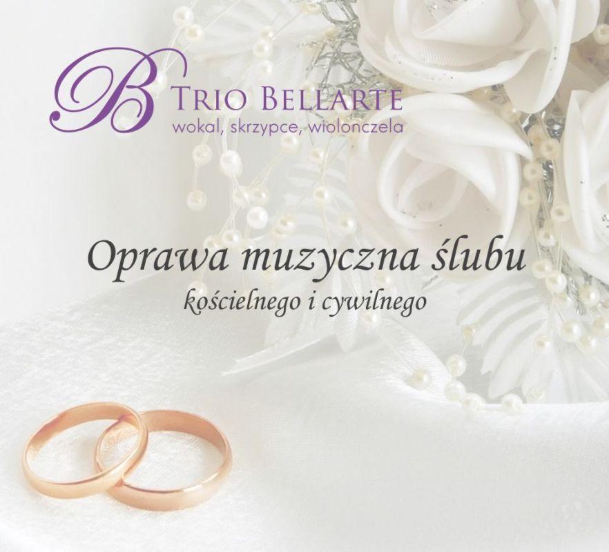 Trio BELLARTE - Oprawa muzyczna ślubu kościelnego i cywilnego, Częstochowa - zdjęcie 1
