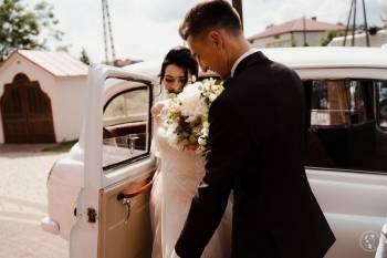 Biała angielska taksówka na Twój ślub, Samochód, auto do ślubu, limuzyna Lubaczów