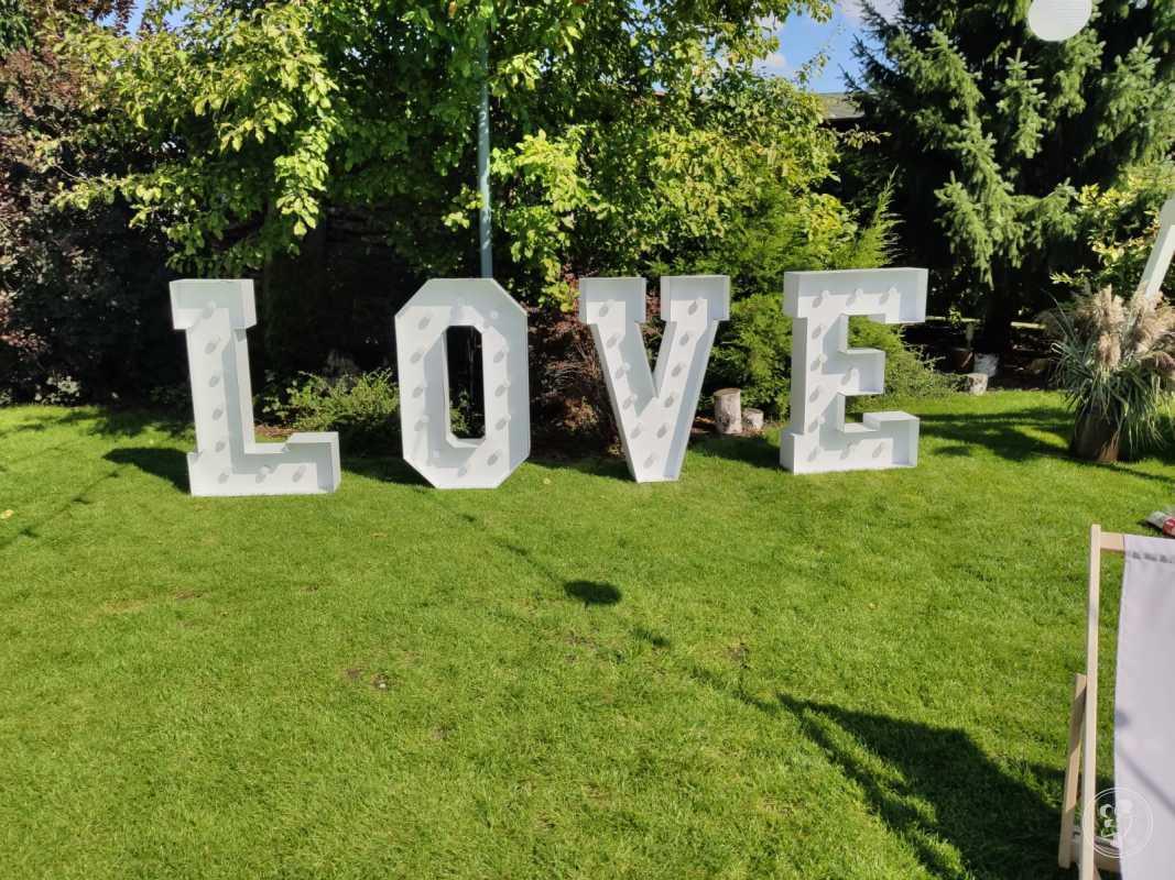 Napis LOVE 120 cm!, Poznań - zdjęcie 1