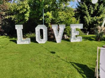 Napis LOVE 120 cm!, Napis Love Ujście