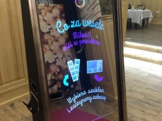 ✰✰✰ Najwyższej jakości Fotobudka LUSTRO! ✰✰✰, Fotobudka, videobudka na wesele Żabno