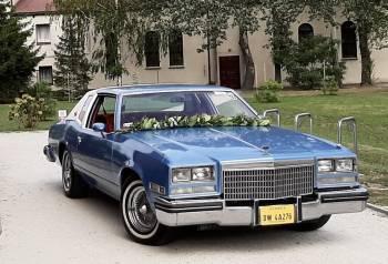Auto do Ślubu, zabytkowy Buick Riviera 1977r. 6.6 V8, piękne brzmienie, Samochód, auto do ślubu, limuzyna Bardo