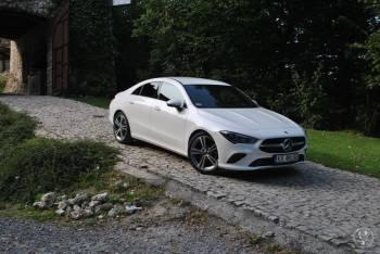 Mercedes Biały - Najnowszy model CLA, Samochód, auto do ślubu, limuzyna Skawina