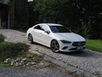 Mercedes Biały - Najnowszy model CLA,  Kraków