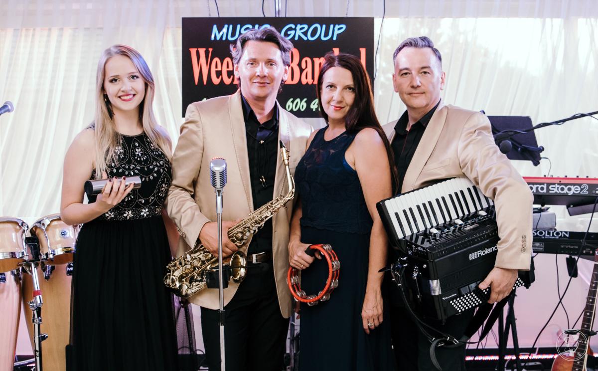 WeekendBand- dobre vokale i sound, prezencja, saksofon, akordeon, Warszawa - zdjęcie 1