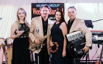 WeekendBand- dobre vokale i sound, prezencja, saksofon, akordeon, Zespoły weselne Pilawa