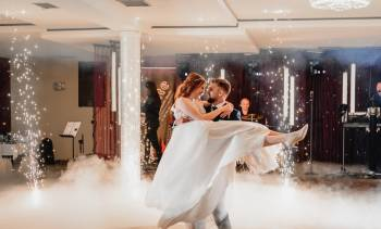 Sercem w Chmurach - atrakcje weselne, Ciężki dym Łaszczów