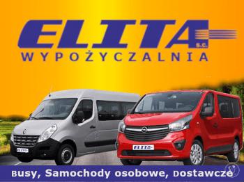 Wypożyczalnia samochodów ELITA, Wynajem busów Gdańsk