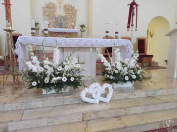 No i ślub to firma florystyczna zajmująca się dekoracją ślubną, Dekoracje ślubne Dobczyce