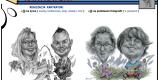 KARYKATURY - JANUSZ MROZOWSKI Rysowanie karykatur na żywo i ze zdjęć., Toruń - zdjęcie 6